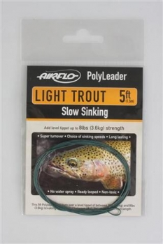 AIRFLO Polyleader Light Trout 5'