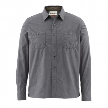 SIMMS Black's Ford LS Flannel Shirt
