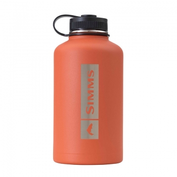 SIMMS Headwaters Insulated Growler 64oz Simms Orange