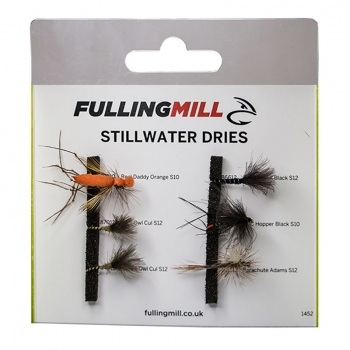 FM Fliegenset Stillwater Dries Selection