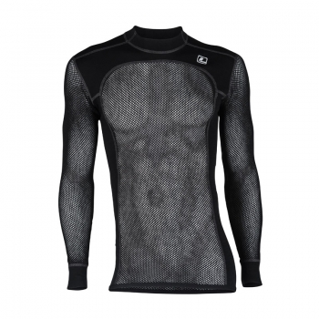 LOOP Wool Crew Net, Jet Black