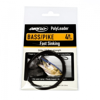 AIRFLO Polyleader Bass / Pike 4'