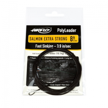 AIRFLO Polyleader Salmon Extra Strong 8'