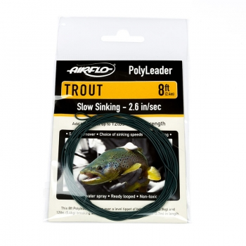 AIRFLO Polyleader Trout 8'