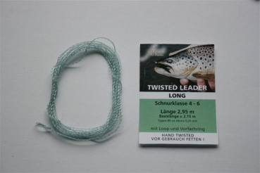 Twisted Leader FFF #4-5 Nylon